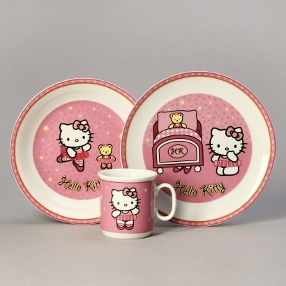 f5e8ea744 Detská porcelánová súprava - Hello Kitty   Montoy